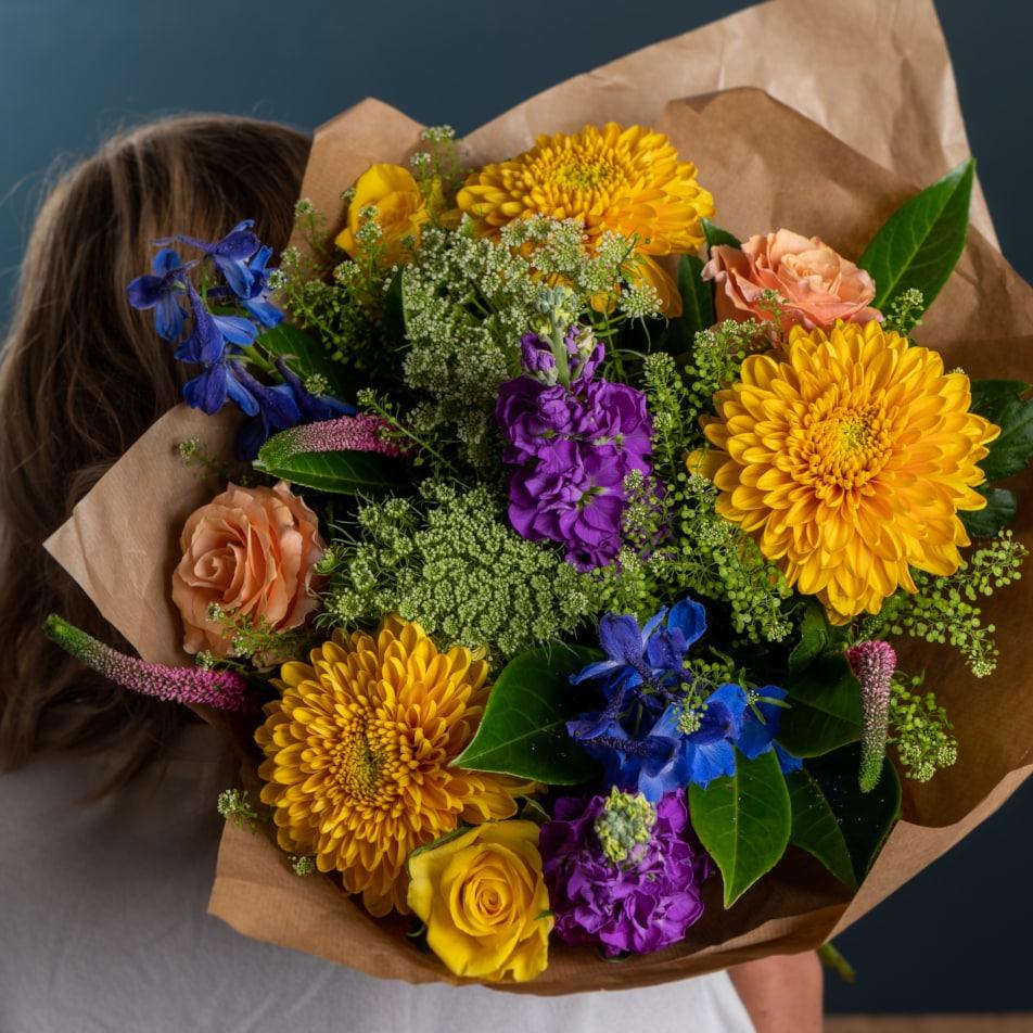 Autumn Kaleidoscope Bouquet