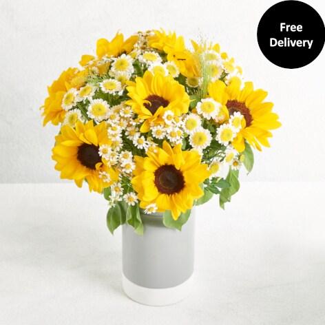 Sunshine Vase  sc 1 st  Next Flowers - Next.co.uk & Flower Vases | Flower Bouquet With Vases | Next Flowers UK
