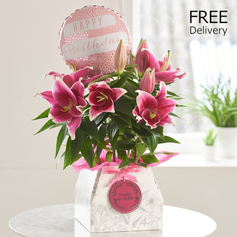 Oriental Lily Birthday Gift