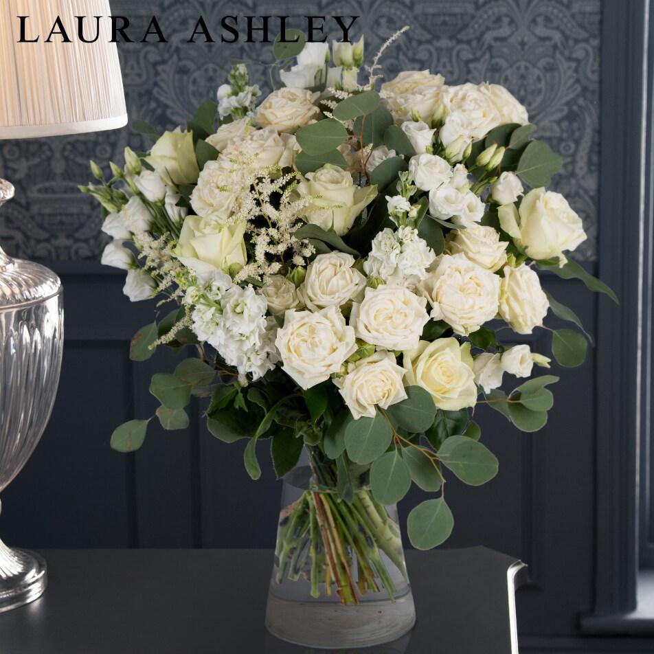 Laura Ashley White Bouquet