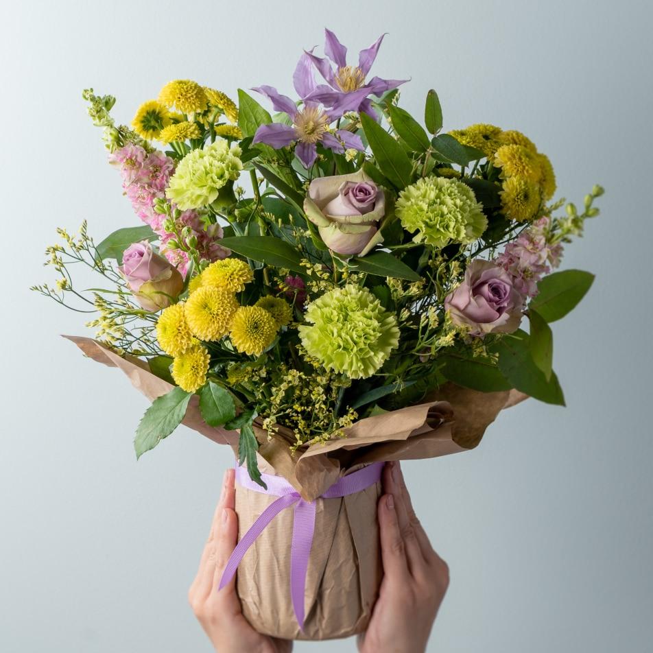 July Gift Wrapped Vase