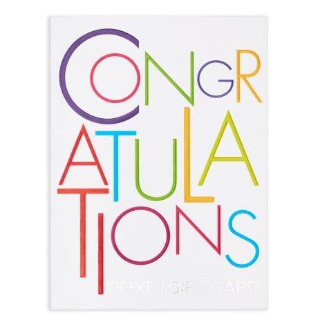 Congratulations Colour